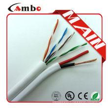 Câble Siamois Balun Cable UTP cat5e + 2C Câble d'alimentation
