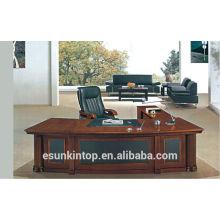 A-09 modern fashion wood veneer office table office desk executive boss desk