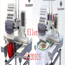 ELUCKY Single Head 15/12 Colors Computerized Embroidery Machine