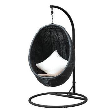 Chaise de patio extérieur rotin Swing