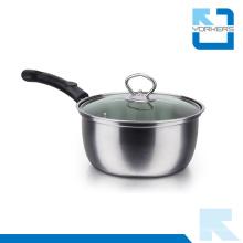 Venta caliente de acero inoxidable Sopa Pot Milk Boiling Pot