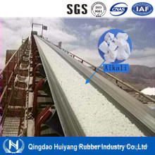 Soda Lime Conveying Alkali Resistant Rubber Conveyor Belt