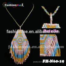 collier de perles de graine en gros brésilien de bijoux en or