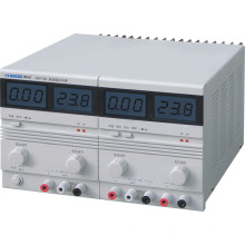 LCD Display Dual Output Regulável DC Stabvilized Power Supply