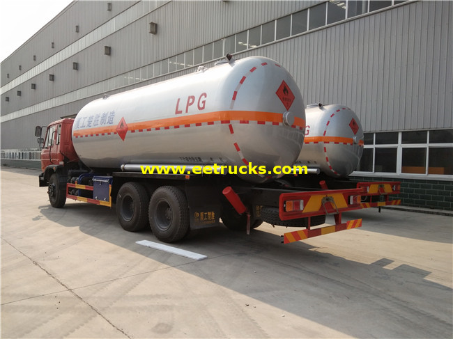 Propane Gas Tank Trucks