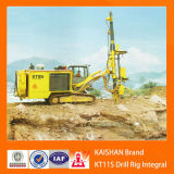 Crawler High pressure portable drill machine