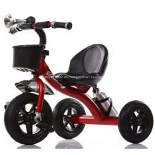 Rot schwarz Babydreirad mit 3 Rädern