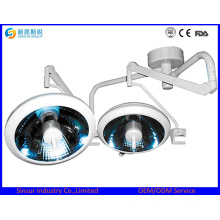 China Cold Shadowless Ceiling Type Halogen Surgical Operating Lights