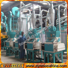 Mais Nassmühle, Maismühle für Kenia, Maismühle