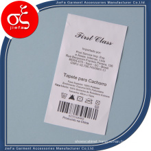 Factory Price Printed Care Label/Garment Wash Label