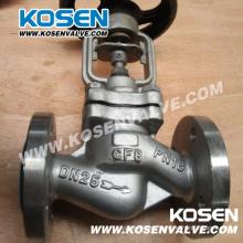 Fuelle de acero inoxidable sellado de válvulas de globo (WJ41)