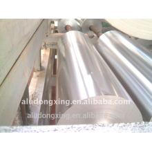 Folha de alumínio para embalagem de alimentos e tipo de rolo