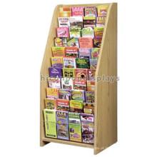 New 11-Layer Amercian Book Shop Display Publicidade Madeira Free Standing Book Retail Store Móveis