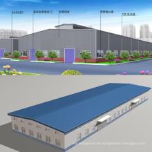 Niedrige Kosten Stahlkonstruktion Gebäude 002