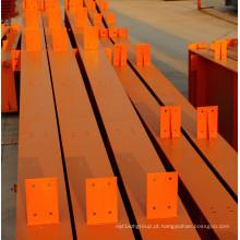 Material de construção de viga de aço estrutural H