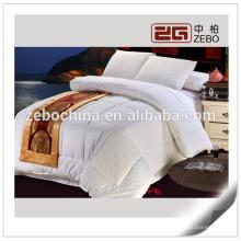 Microfiber baratos Enchimento Confortável Customized Atacado White Duvet