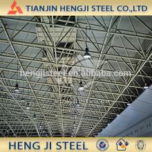 Tubulação de aço galvanizado mergulhado a quente para a construção (teto)