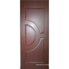 Pele de porta moldada MDF