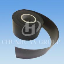 Haste de fita preta da folha do tubo enchida PTFE