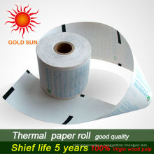 ATM Thermal Paper Rolls with black sensor mark