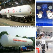 56m3 Tri-Axle Liquid Propane Gas LPG Trailer