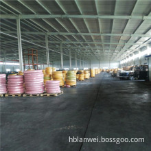 steel wire braided hydraulic hose with smooth surface