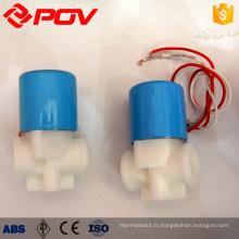 connexion de fil de haute qualité POC électrovanne de machine à eau domestique