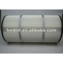Donaldson To Filter Dust Polyester Fiber Filter Cartridge P190818-016-436 , Circulation Pump Outlet Filter Element