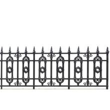 Oval Ring Aluminum Fence