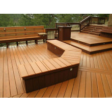 Hot Sale Waterproof WPC Decking en bois composite en composite en plastique
