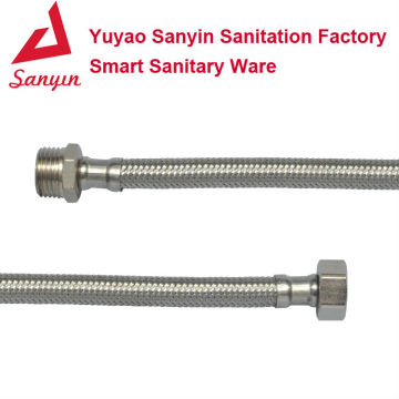 Stainless steel wire braided pvc hose