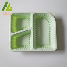 Blister Plastic Takeaway Lunch PP Tray