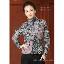 Stylish pattern women's cashmere winter sweater