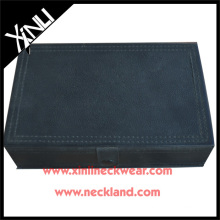 Tie Gift Packaging Boxes with Cheaper Leather Necktie Box