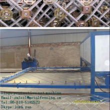 Slope protective net machine