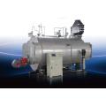 0.5t / H horizontal de aceite de tubo de combustión (gas) disparó caldera de vapor de productos químicos