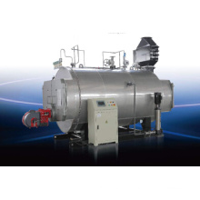Chaudière à vapeur horizontale à gaz d'huile à gaz 0.5t / H pour produits chimiques