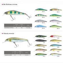 Appât de pêche de gros dur en plastique Crankbait Minnow
