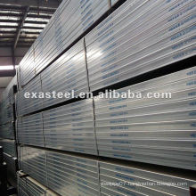 Pre-Galvanized Rectangular Steel Pipe