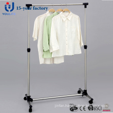 Stainless Steel Telescopic Single Rod Clothes Hanger