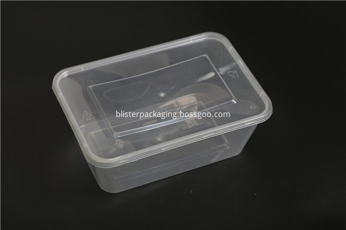 Rectangular Clear Plastic Containers
