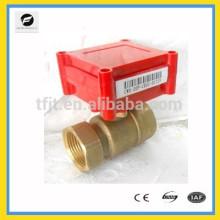 Robinet électrique de moteur d'actionneur de laiton de 2-way DC5V de CWX20P avec la fonction de rétroaction de signal