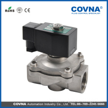open at 0 pressure solenoid valve direct lifting diaphragm stainless steel solenoid valves 2 inch 240V solenoid valve