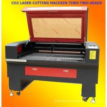 CO2-Laserschneidmaschine mit zwei Händen