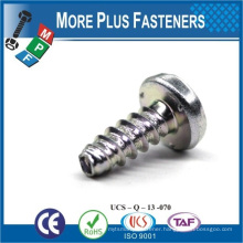 Made in Taiwan Carbon Steel Self Tapping Thread Rolling Tapping Screw Taptite Screw