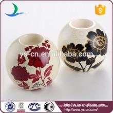 Ceramic round decorative ceramic tea light holder