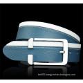 New Splicing Cowhide Genuine Leather Belt Replica Designer Belts for Men