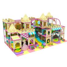 Buen diseño de castillo para niños de interior Parque de diversiones