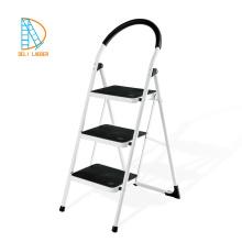 Taburete de paso de plástico plegable plegable multiusos pequeña escalera de servicio pesado