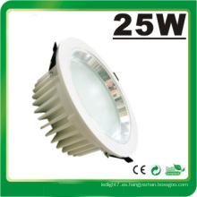 Lámpara LED Dimmable 25W LED Down Luz LED Luz